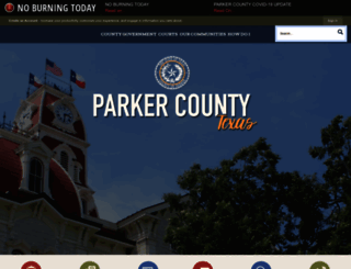parkercountytx.com screenshot