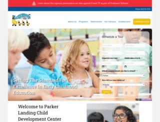 parkerlandingcdc.com screenshot