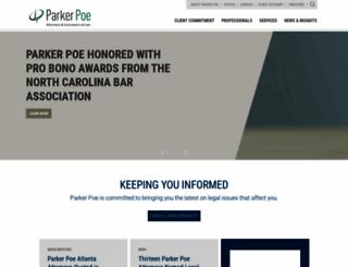 parkerpoe.com screenshot