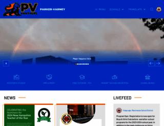 parkervarney.mansd.org screenshot