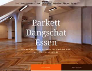 parkett-dangschat.de screenshot