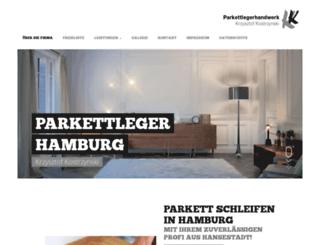 parkettlegerhandwerk.de screenshot