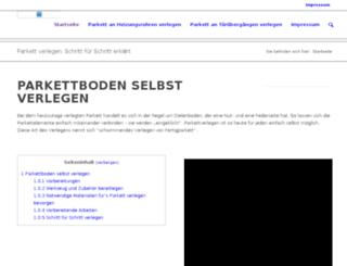 parkettverlegen.net screenshot