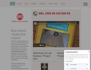 parketvloerschuren.com screenshot