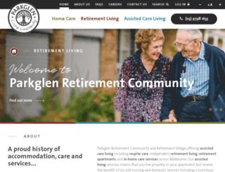 parkglen.com.au screenshot