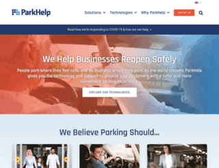 parkhelp.com screenshot