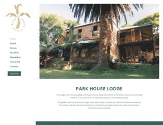 parkhouse.co.za screenshot