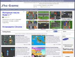 parking-games.shegame.com screenshot
