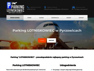 parking-lotniskowiec.pl screenshot