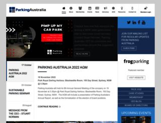 parking.asn.au screenshot