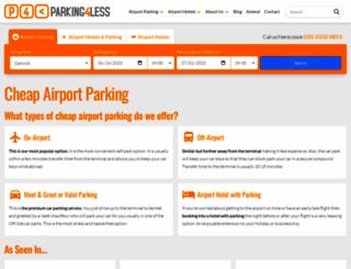 parking4less.co.uk screenshot