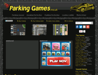 parkinggames.me.uk screenshot
