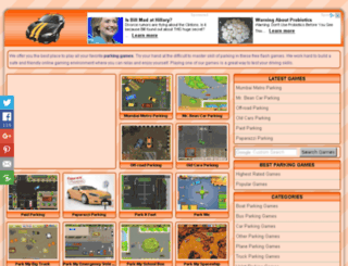 parkinggames.net screenshot
