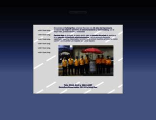 parkingmex.com.mx screenshot