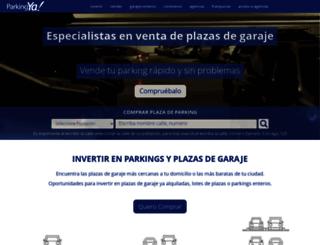 parkingya.es screenshot