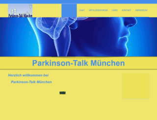 parkinsontalk-muenchen.de screenshot