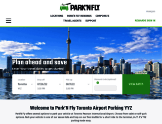 parknfly.ca screenshot