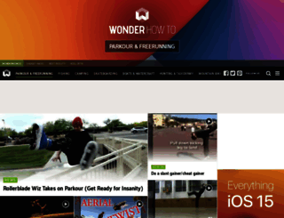 parkour.wonderhowto.com screenshot
