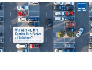parkplus.de screenshot