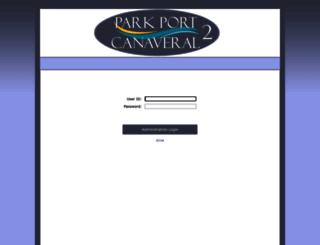 parkportcanaveral2.chelseareservations.com screenshot