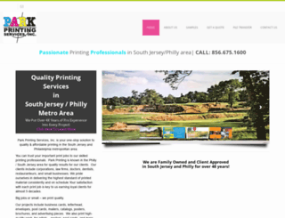 parkprintingco.com screenshot
