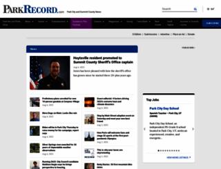 parkrecord.com screenshot