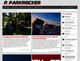 parkrocker.net screenshot