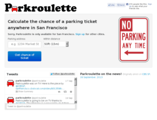 parkroulette.com screenshot