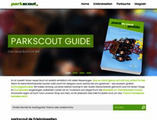 parkscout.de screenshot