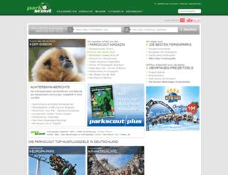 parkscout.es screenshot