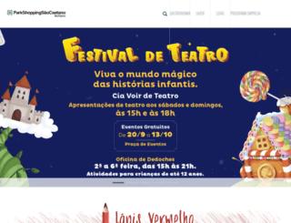 parkshoppingsaocaetano.com.br screenshot