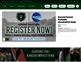 parksiderangers.com screenshot