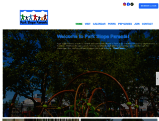 parkslopeparents.clubexpress.com screenshot