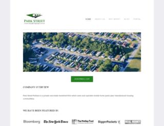 parkstreetpartners.net screenshot