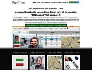 parktime.com screenshot