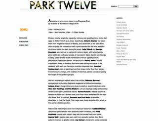 parktwelve.wordpress.com screenshot