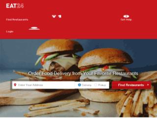 parkville.eat24hours.com screenshot