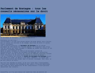 parlement-bretagne.com screenshot
