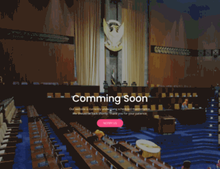 parliament.gov.sd screenshot