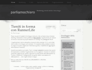 parliamochiaro.wordpress.com screenshot
