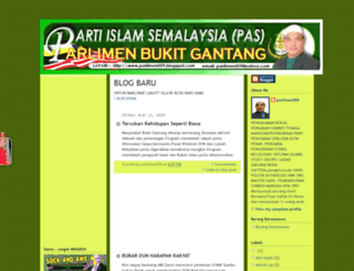 parlimen059.blogspot.com screenshot