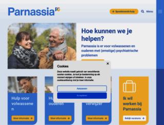 parnassia.nl screenshot