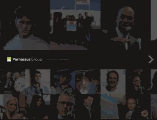 parnassusgroup.com screenshot