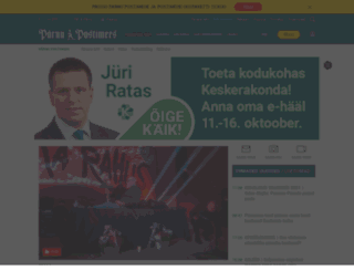 parnupostimees.ee screenshot