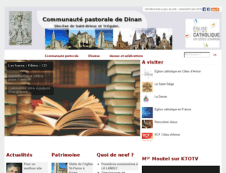 paroisse-dinan-saint-brieuc.cef.fr screenshot