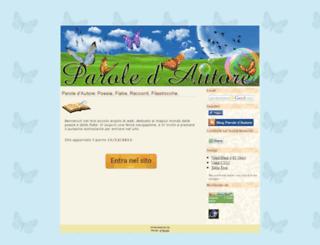 paroledautore.net screenshot