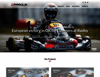 parolinracing.com screenshot