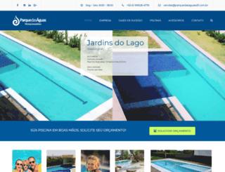 parquedasaguasdf.com.br screenshot