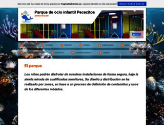 parquedeocioinfantilpececitos.es.tl screenshot