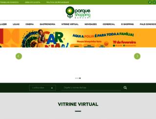 parqueshoppingbarueri.com.br screenshot